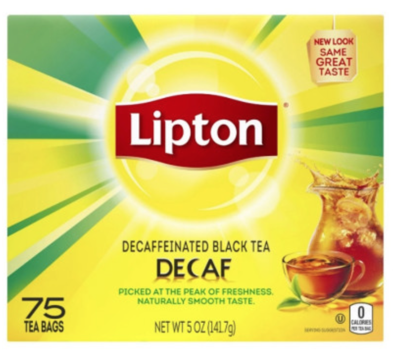 Decaf Black Tea 75ct. Lipton