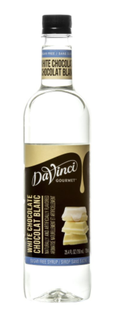 Sugar Free White Chocolate DaVinci 750ml