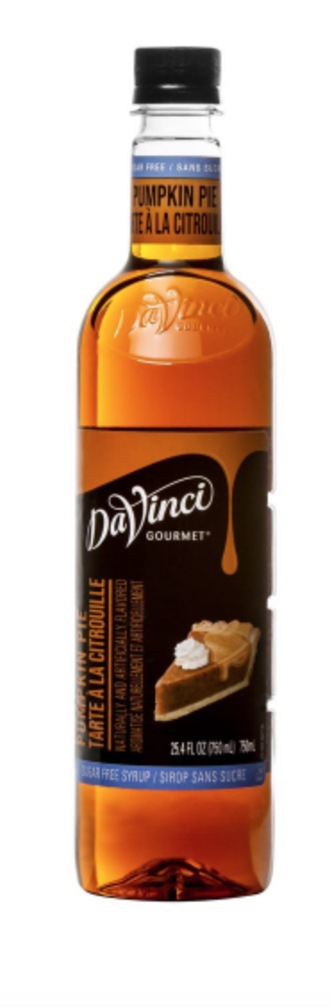 Sugar Free Pumpkin Pie DaVinci 750ml