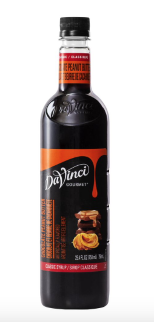 Chocolate Peanut Butter PET DaVinci 750ml