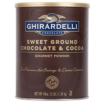 Sweet Ground Chocolate Cocoa Ghirardelli 3 lb.
