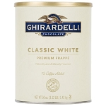 White Frappe Ghirardelli 3.12 lb. Can
