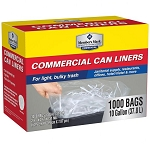 Trash Liners 7-10 Gallon 500 ct.