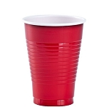 16 oz. Red Plastic Cups 24 ct.