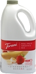 Strawberry Banana Real Fruit Smoothie Mix Torani