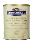 Sweet Ground White Ghirardelli 3.12 lb. Can