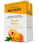 Premium Peach Fruit Smoothie Mix Monin
