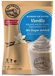 Vanilla No Sugar Added Blended Iced Coffee Big Train 3.5 lbs.