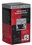 Organic Breakfast Tea 20ct. Harney & Sons