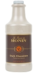 Dark Chocolate Sauce Monin 64 oz.