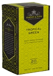 Tropical Green Tea 20ct. Harney & Sons