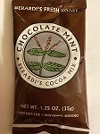 Berardi's Chocolate Mint Hot Cocoa Mix      40 ct case. 1.25oz packets