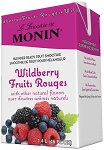 Premium Wildberry Fruit Smoothie Mix Monin